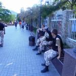 Ребята из патруля на набережной
