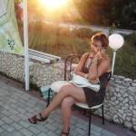 Людмила Еремизина. Отдых в Коктебеле