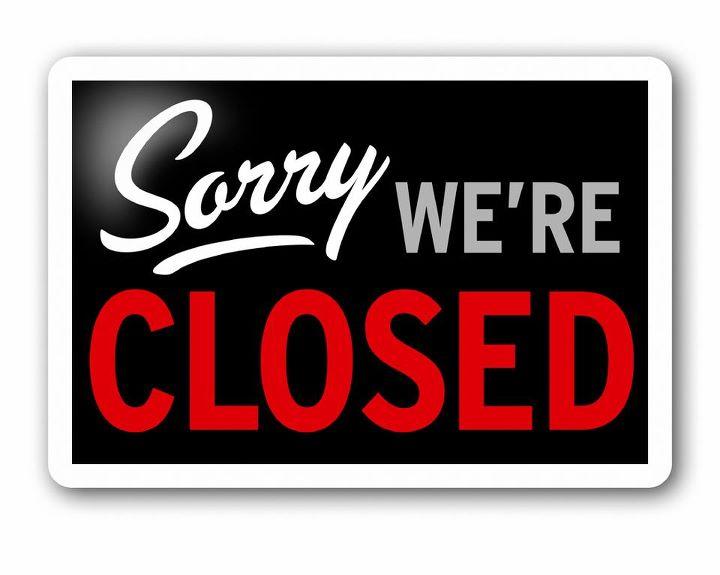 Мы закрыты